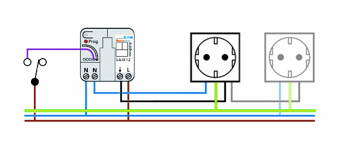 saix12 circuit whome pty ltd trusted supplier of home automation in australasia retractive switch wiring diagram at gsmportal.co